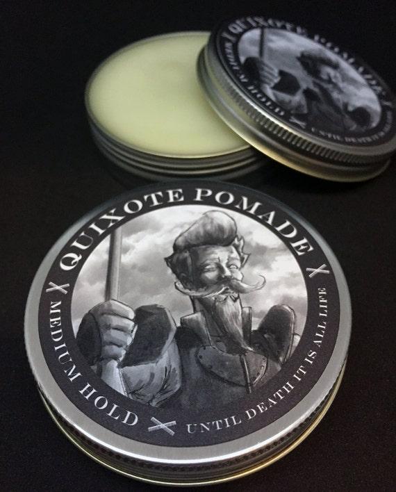 Quixote Pomade Medium Hold Oil Based | Etsy