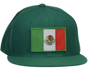 6e21b7fb050 Mexico Snapback Hat - Kelly Green