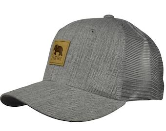 LET S BE IRIE Trucker Hat - Heather Grey 7939ac1faa4e