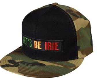 ba8717090 Reggae snapback hat | Etsy