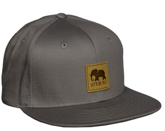 Elephant - Grey Snapback Hat by LET S BE IRIE f71ab5911928