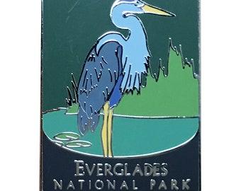 Everglades National Park Pin - Egret, Florida