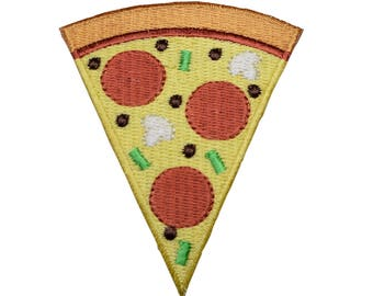 Slice of Pizza Patch Applique (Iron on)