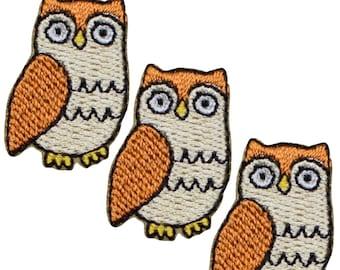 OwlOwl-purplePurple patch appliqu\u00e9 application #9358