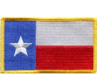 Texas Flag Patch (Iron on)
