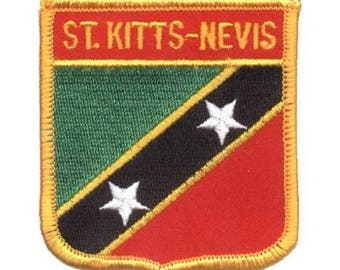 St. Kitts and Nevis Patch (Iron on)