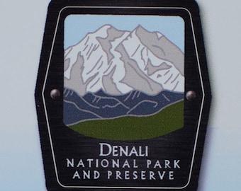 Denali National Park and Preserve Trekking Pole Decal - Alaska Wilderness