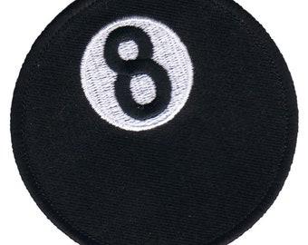 Eight Ball Patch - Billiards 0ffcfc21788e