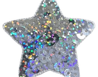 Pick a Color Sequin Star Patch