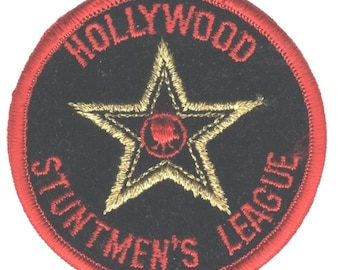 Iron on Famous Los Angeles Sign Hollywood California Patch