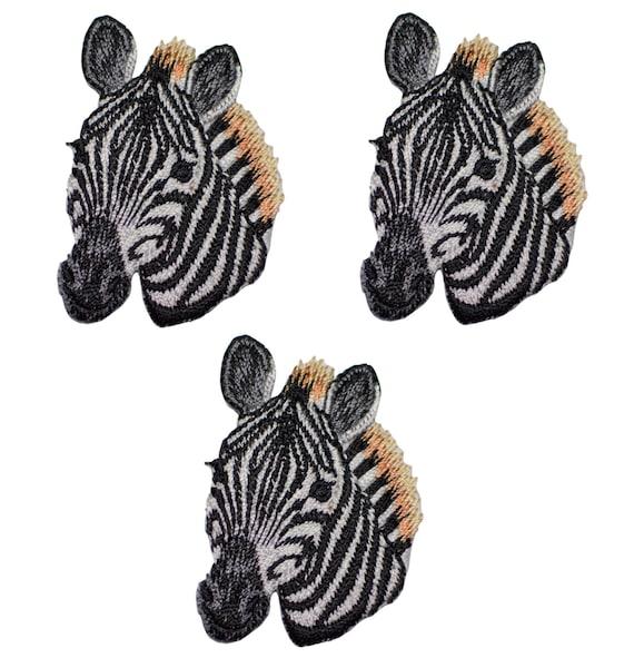 Zebra Applique Patch Iron on