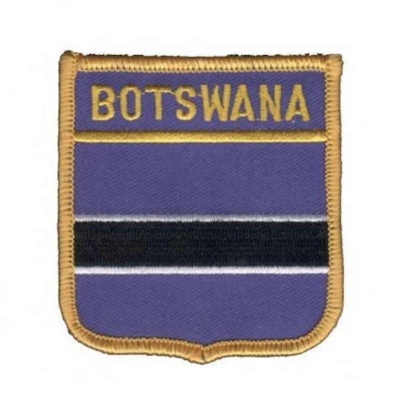 Botswana Patch Iron on