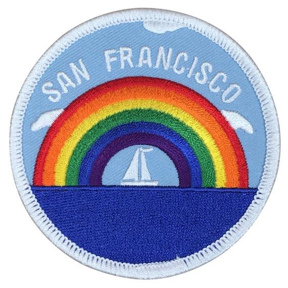 California Swimming Team Alcatraz Island San Francisco Patch Iron on
