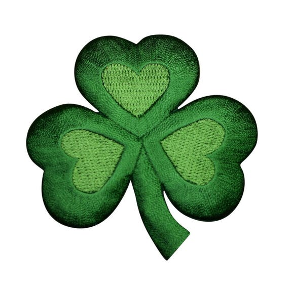 """Mickey Mouse Patch Clover St Patrick Day Luck Iron On Applique 2.50/"""" X 2.50/"""""""