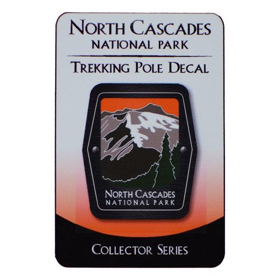Mountains Washington North Cascades National Park Trekking Pole Decal Trees