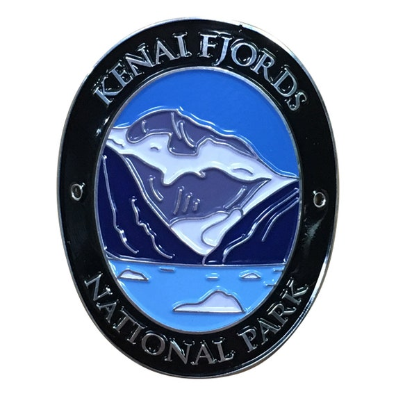 Mountains Kenai Fjords National Park Trekking Pole Decal Alaska Lake