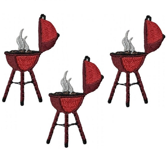I love bbq mini size barbecue Iron on patch ap553