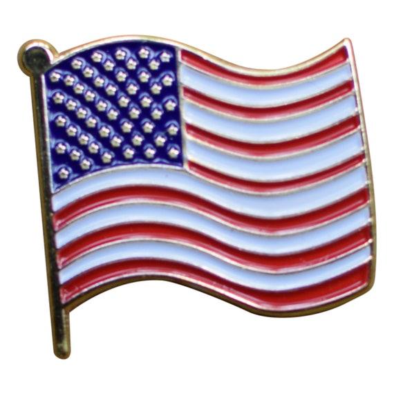 Wavy CA Flag Iron on California Patch