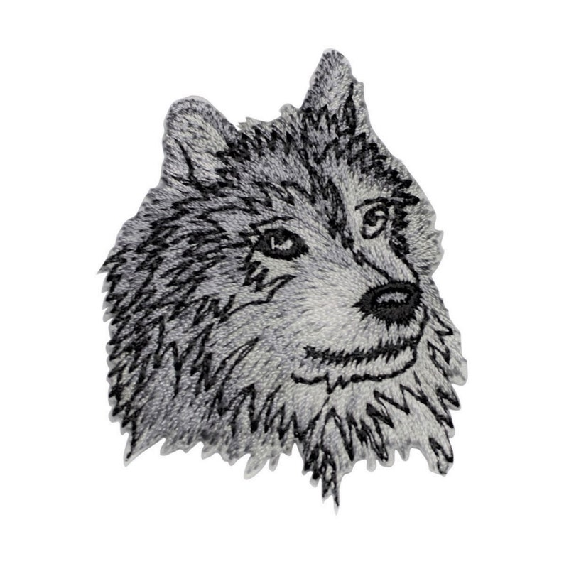 Iron on Wolf Coyote Applique Patch