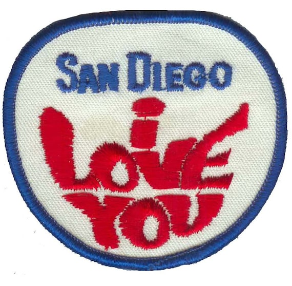 San Diego Dolphin Patch California Iron on