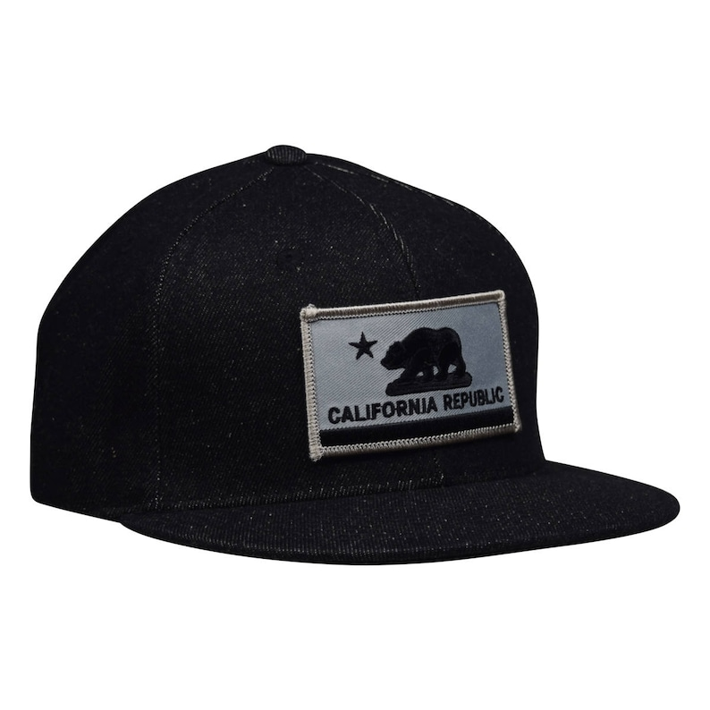 19277d953dcc6 California Republic SnapBack by LET S BE IRIE Black