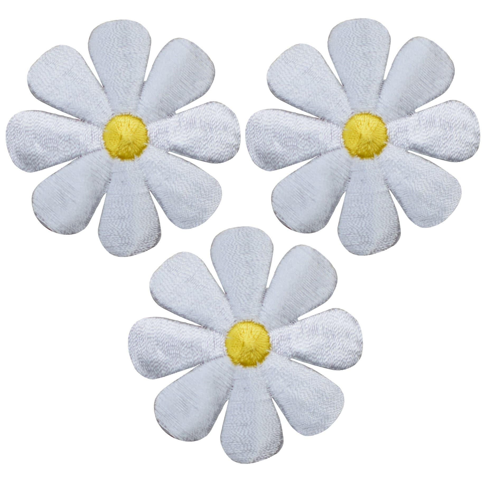 #SP-00189 1 Dark Yellow  Crazy Daisy  Flower Patch