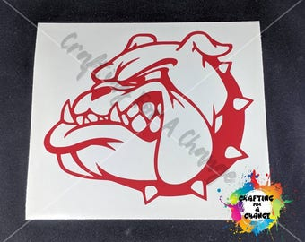 USMC Marines Bulldog Vinyl Decal, USMC Decal, Marine Corps Decal, Bulldog Decal, Marine Corps, Marine, Military Decal, Car Decal, Decal