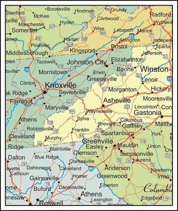 Big Map of the USA. 5x8 or 6xft x 10ft map. Large USA Map. Largest and Most  Detailed Available