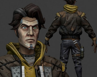 Timothy Lawrence cosplay costume inspired by Borderlands 3 MADE TO ORDER