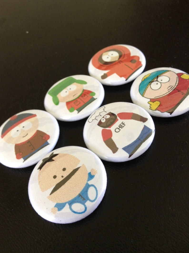 South Park Pin Set 1