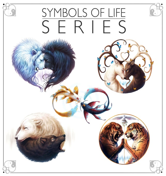 Symbols Of Life Package Signed Fine Art Giclee Prints Wall Etsy
