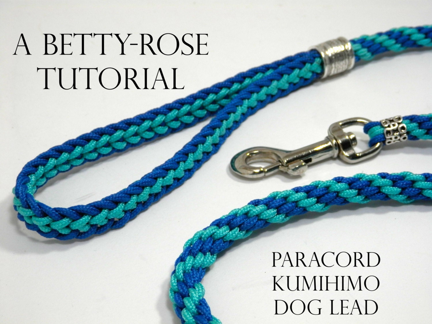 Tutorial For Kumihimo Paracord Dog Leash Lead Flat And Round Etsy