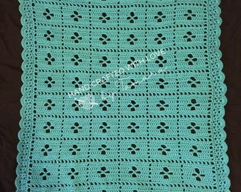 Call the Midwife Handmade Vintage-Style Crochet Baby Blanket | READY TO SHIP