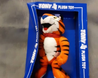 Collectibles Merchandise & Memorabilia Good Tony The Tiger Frosted Flakes Kellogg's Cereal Advertising Premium Doll Toy Box Choice Materials