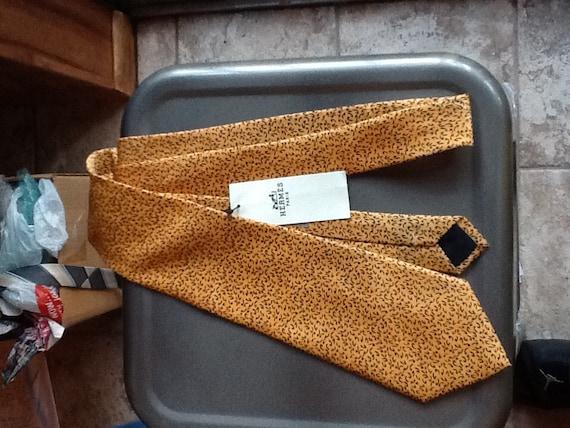 Hermes Paris Silk Men's Neck Tie