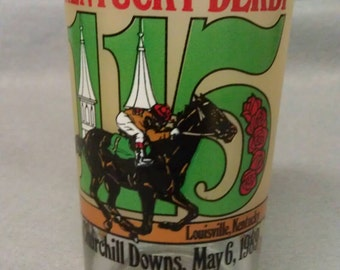 Kentucky Derby 115 Glass Tumbler