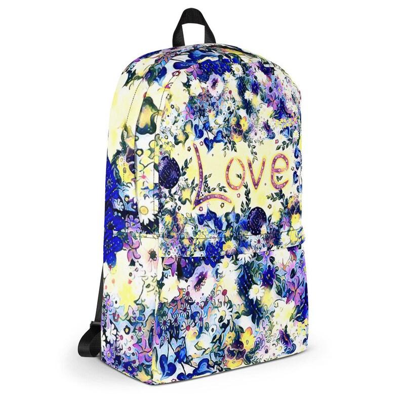 Love Blue Backpack