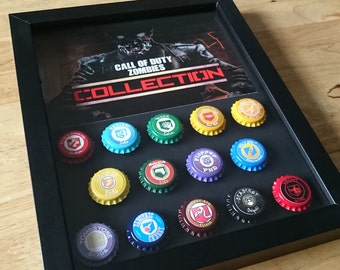 Call of Duty Black Ops-1-2-3-4 zombies-perk-a-cola-in-a-shadowbox