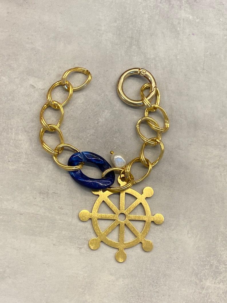 Chain bracelet mothers day summer jewelry marine bracelet gift