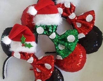 6200e8677b5 Christmas Minnie Santa