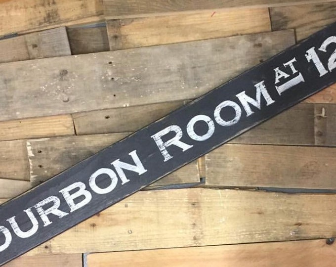 Bourbon Barrel Sign. Man Cave Decor. Bourbon and Barrel. Bourbon Sign. Bourbon Gifts. Bourbon Art. Kentucky Bourbon. Bar Decor. Custom Sign
