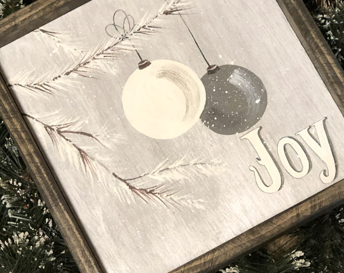 Joy to the World. Teacher Gift. Farmhouse Christmas. Rustic Holiday Signs. Vintage Holiday Sign. Holiday. Christmas Signs. Holiday Decor.