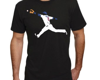 Brian Dozier diving grab-Minnesota Twins-Shirt