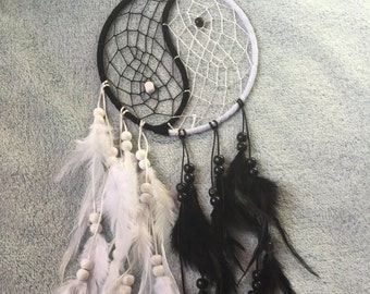 Ying and Yang Dreamcatcher