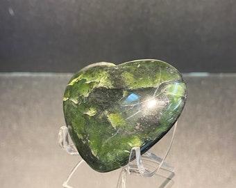 high quality Nephrite Jade heart | jade heart | nephrite heart | green heart crystal | crystal heart | nephrite jade | afghn