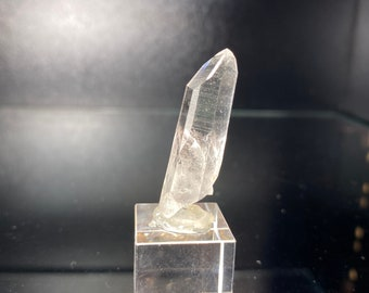 Lemurian seed crystal (well coded colombian quartz point)   emerald mines Muzo Colombia
