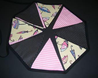 UMBRELLA BUNTING BANNERS - umbrella bunting flags - umbrella garlands - umbrella pennant - umbrella banner - umbrella home decor -