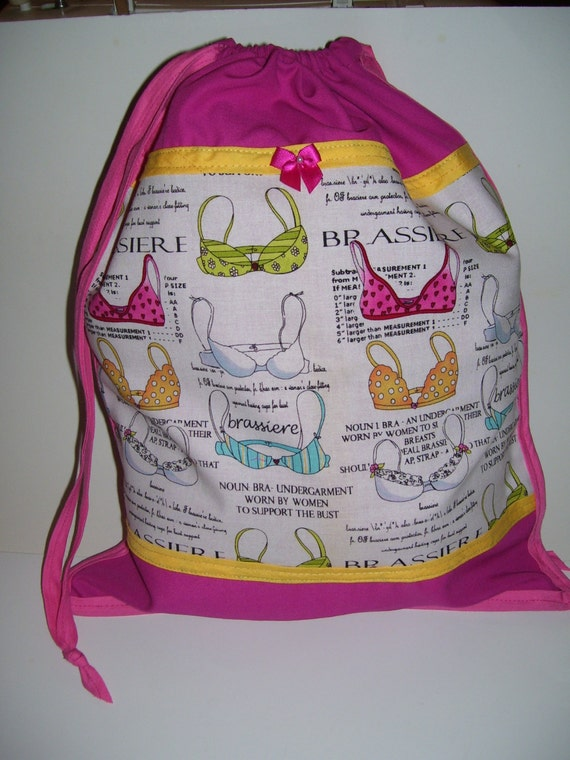 JOLI sacs de transport - conception de soutien-gorge jaune et rose - soutien-gorge chaussure sacs - sacs à linge soutien-gorge Sacs cabas - sacs de voyage bra - soutien-gorge - soutien-gorge sacs-cadeaux