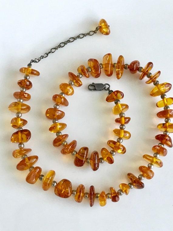 etsy collier ambre femme