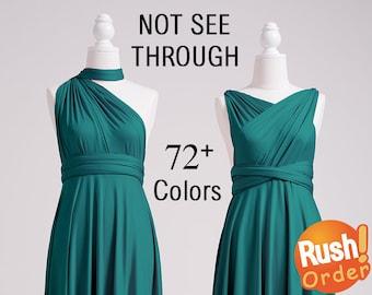 Infinity Dress Teal, Infinity Bridesmaid Dress, SHORT, LONG, PLUS Size, Infinity Wrap Dress, Infinity Maxi Dress, Maternity Infinity Dress